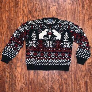 Polo by Ralph Lauren Wool Sweater Bear
